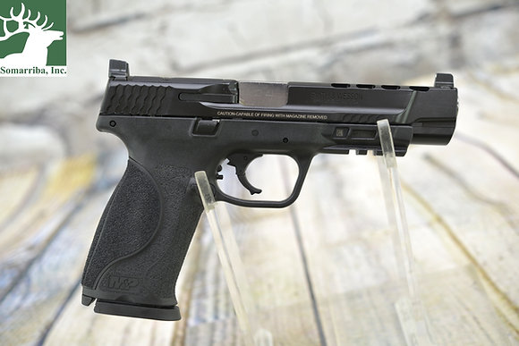 """SMITH & WESSON 11833 M&P 9 PERFORMANCE CENTER M2.0 9MM LUGER 5"""" BBL 17+1 NTS"""