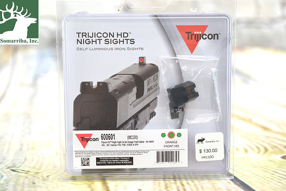 TRIJICON HTRIJICON HD NIGHT SIGHTS SET 600601  HK110O  FOR HK.45C, .45C Tactical