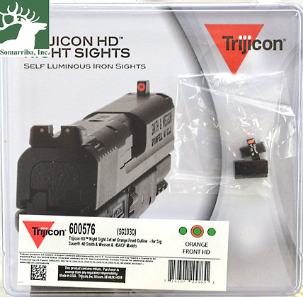 TRIJICON HD NIGHT SIGHTS SG103O SIG for Sig Sauer® .P220 (WITH DOVETAIL), PP229