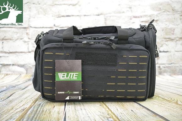 "ELITE SURVIVAL SYSTEM LOADOUT RANGE BAG 9050-B BLK 17"" x 10"" x 11"""