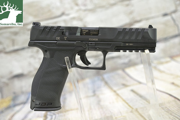 """WALTHER ARMS PISTOL 2844001 PDP  9mm  FULL SIZE  OPTIC READY 5"""" BBL"""