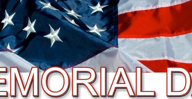 Announcement: Memorial Day Holiday!