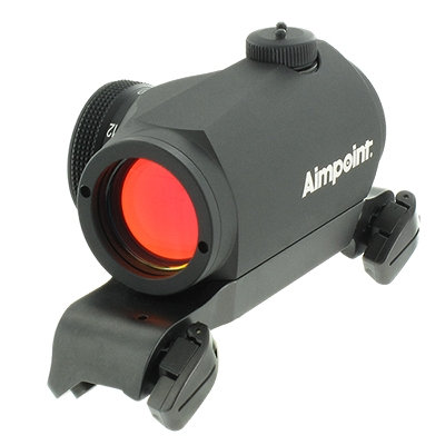 AIMPOINT MICRO SIGHTS 200090 H-1 2MOA WITH NEW BLASER MOUNT