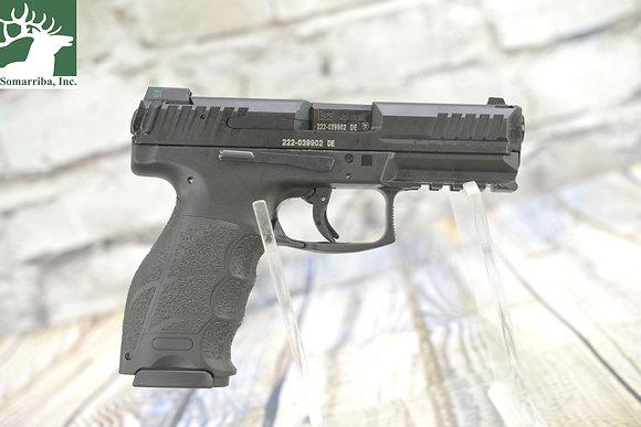 """HK 81000242 VP40 40 S&W 4.09"""" 13+1 (3) Black Steel Slide Black Interchangeable"""