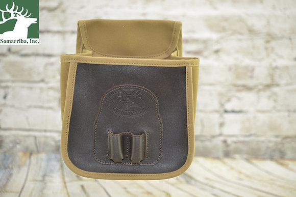 GALCO FIELD GRADE SHELL CANVAS /FRONT LEATHER SHELL LOOP CD1070KH