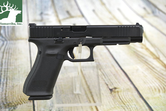 "GLOCK PISTOL PA3430S103MOS G34 G5 9M AS 5.31"" BBL (3) 17R MAG"