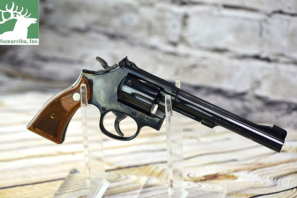"SMITH & WESSON  REVOLVER 150477 17 CLASSIC  MASTERPIECE 22 LR 6"" 6RDS CHECKERED"