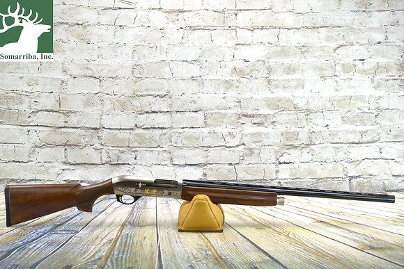 "BENELLI SHOTGUN 10850 MONTEFELTRO SILVER 12 GA 28"" BBL"