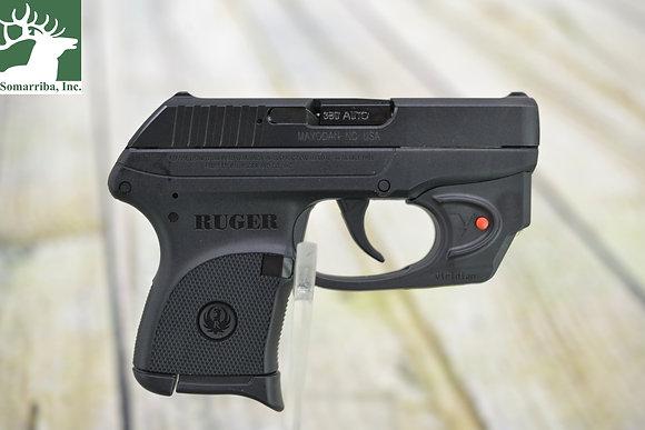 "RUGER PISTOL 3752 LCP 380ACP 6RDS 2.75"" VIR LASER"