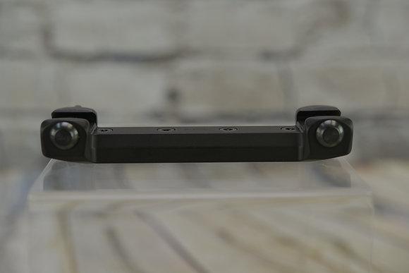 RECKNAGEL ERA TIP-OFF PICATINNY RAIL W/NUT 130MM LONG 8MM HIGH - 45°
