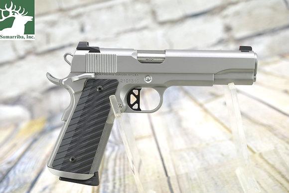 "Dan Wesson  Pistol 01824 Valor 45 ACP 5"" 8+1 Stainless Steel Black G10 Grip"