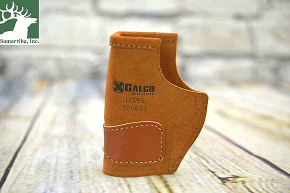 GALCO HOLSTER TUC664 SIG SAUER P938 TUCK-N-GO INSIDE THE PANT NATURAL