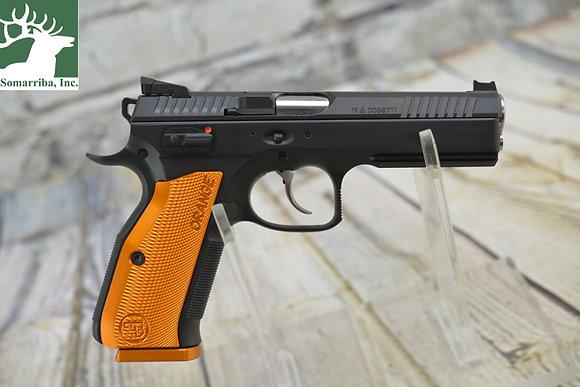 "CZ PISTOL 91249  Shadow 2 Orange  9mm 17+1  CAPACITY SA/DA 4.89""BBL"