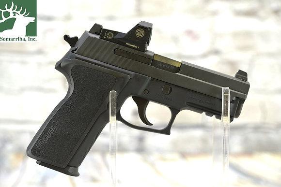 "SIG SAUER PISTOL  P229 RX SA/DA 9MM 3.9"" 15+1 BLK NITRON SS"