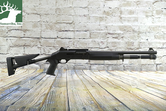 "BENELLI SHOTGUN 11701 M1014 Fixed-Position Shotgun 12-Gauge 2-3/4"" and 3"" 5+1 Se"