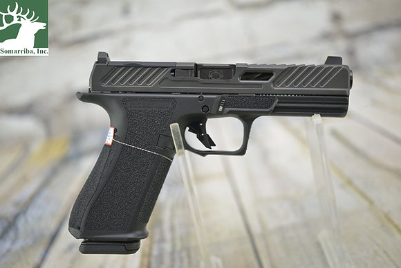 SHADOW SYSTEMS PISTOL DR920 ELIOR 9MM, BLK, (2) 17RD MAG, TRITIUM FRONT