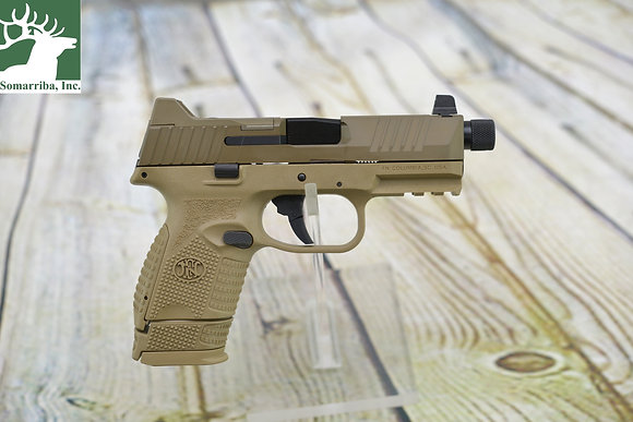 "FN PISTOL 66100780 509C TACTICAL 9MM LUGER 4.32"" 15+1 12+1 24+1 FLAT DARK EARTH"
