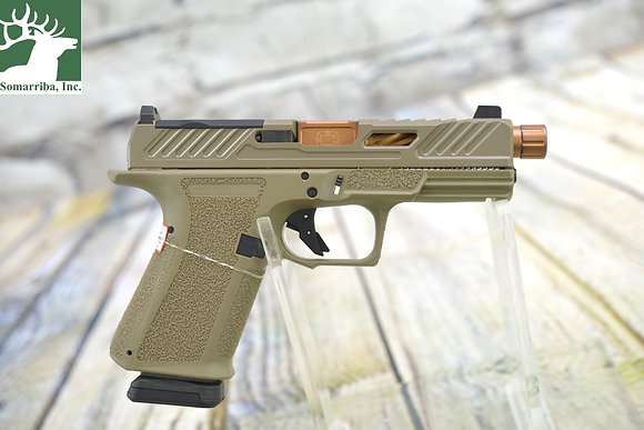 SHADOW SYSTEMS PISTOL SS-1021 MR920 ELITE 9MM 15 RD CAPACITY FDE BNZ OPTICAL