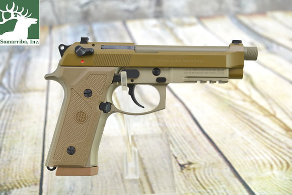 """BERETTA PISTOL J92M9A3M0 M9A3 9MM FED TYPE F 5"""" BBL 3 17 RN MAGS MADE IN ITALY"""