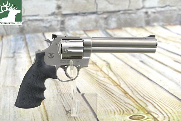 Korth Mongoose(Nighthawk Custom) Revolver .357 Magnum Silver DLC Finish