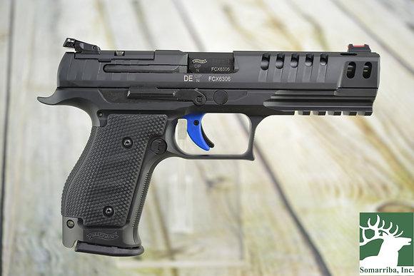 "Walther Pistol 283001 PPQ M2 Q5 Match Steel Frame Pistol, 9mm, (3)-15Rd, 5"" BBL"