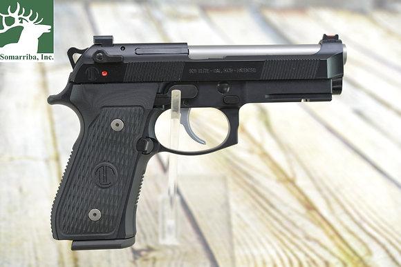 "BERETTA PISTOL J92GQ9LTTM 92G Elite LTT Centurion 9mm Luger 4.25"" 18+1 Black BlK"