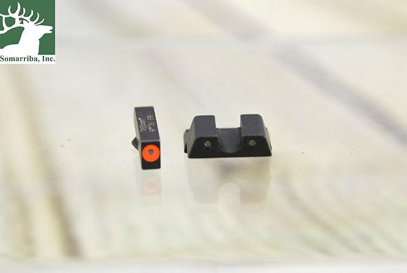 TRIJICON HD NIGHT SIGHTS FOR Glock 42, 43, 43x, 43E & 48 -ORANGE
