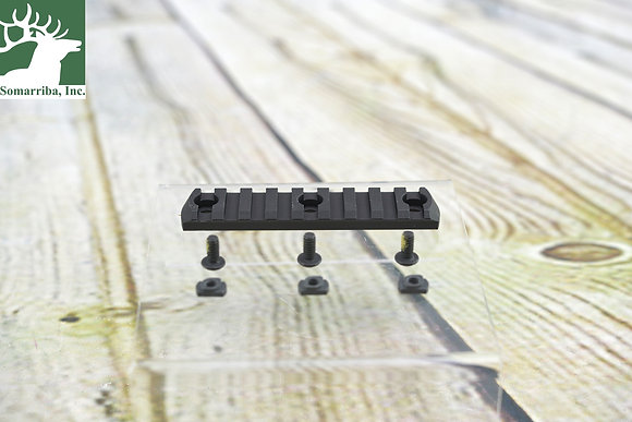 "MAGPUL MAG583BLK M-LOK Rail 9 Slot Picatinny Aluminum Black 3.875"""