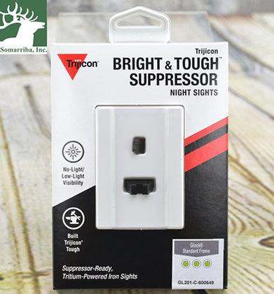 TRIJICON GL201-C-600649 BRIGHT & TOUGH NIGHT SIGHT SUPPRESSOR SET - WHITE FRONT