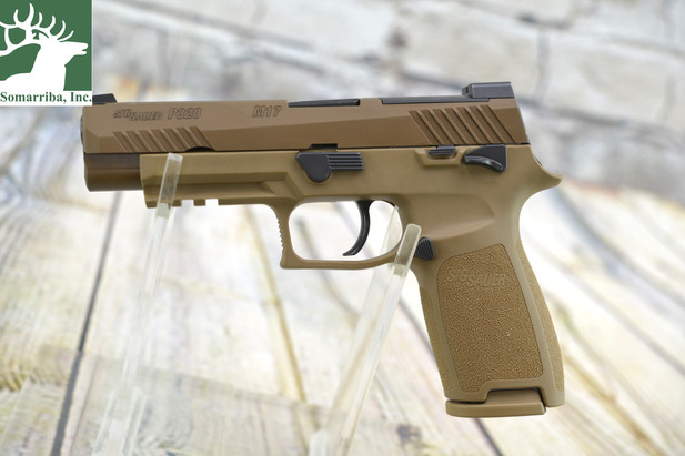 IN-STOCK: SIG Sauer's M17 - The Official Sidearm Of The U.S. Army