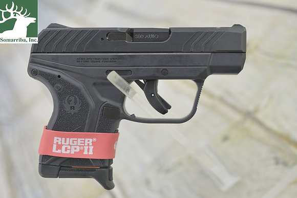 "RUGER PISTOL 3750 LCP II SINGLE 380 ACP 2.75"" 6+1 FS BLK"