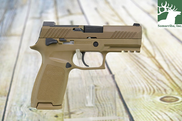 SIG SAUER PISTOL 320CA-9-M18-MS-1M P320, 9MM, 3.9IN, M18, COYOTE