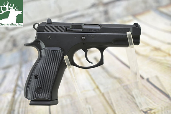 """CZ PISTOL 91190 75 COMPACT 9MM 3.9"""" 15RDS 3-DOT SIGHTS LEVER SAFETY SYNTHETIC"""