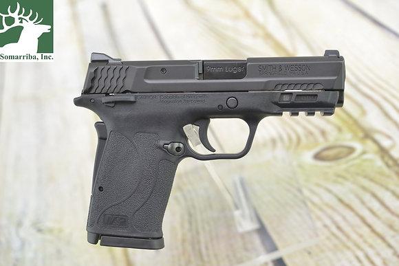 """Smith & Wesson  Pistol 12436 M&P 9 Shield EZ M2.0 9mm Luger 3.68"""" 8+1 Black Poly"""