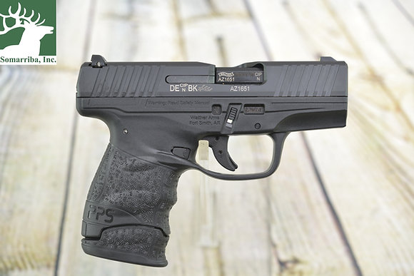 """WALTHER PISTOL 2807696 PPS M2 LE EDITION  9MM  3.18"""" BBL  BLACK, POLYMER GRIP 3"""