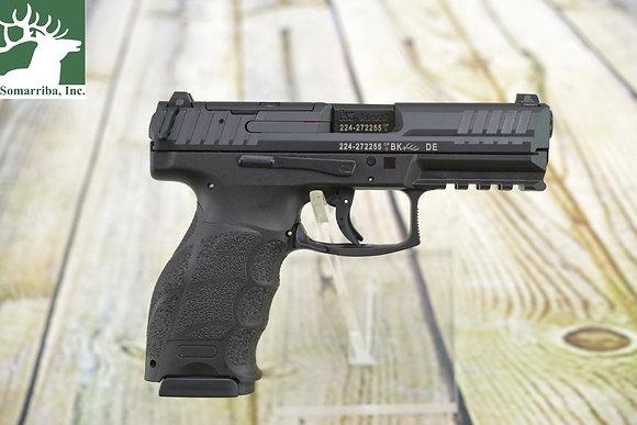 "HK PISTOL VP9 Optics Ready 9mm Luger 4.09"" 17+1 Black Black Steel Slide Black"