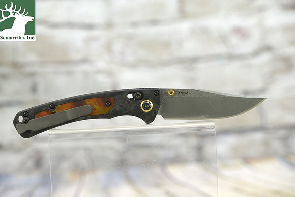 BENCHMADE KNIFE 15085-201 GOLD CLASS  MINI CROOKED RIVER