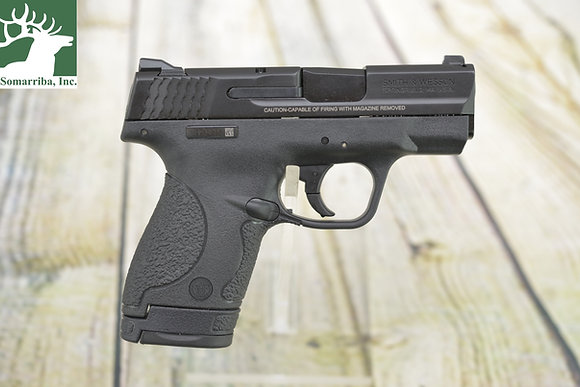 """SMITH & WESSON M&P SHIELD 9MM LUGER 3.10"""" (4) 8+1 MAGS, (1) 7+1 MAG MATTE BLACK"""