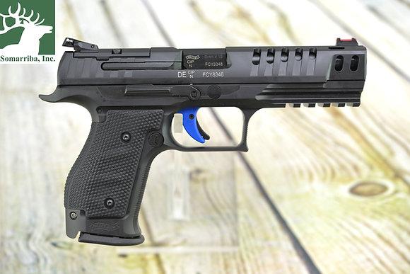 "Walther Pistol 2846942 PPQ M2 Q5 Match Steel Frame Pistol, 9mm, (3)-15Rd, 5"" BBL"
