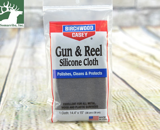 BIRCHWOOD CASEY 30001 GUN & REEL CLOTH SILICONE