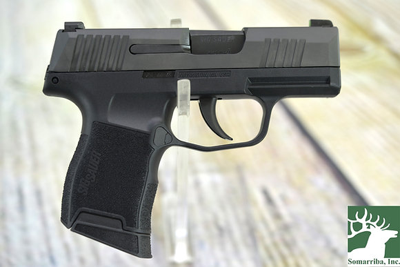 "Sig Sauer 3659BXR3 P365 9mm Luger 3.10"" 10+1 Black Black Polymer Grip Night"
