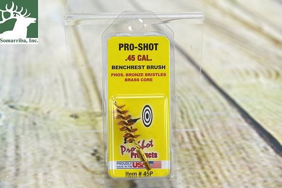 PRO SHOT PISTOL BRONZE BRUSH 45P