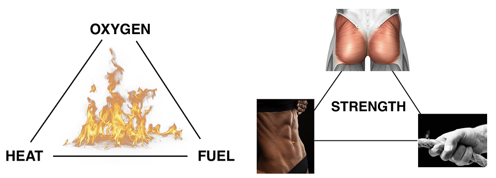 Triangle of strength