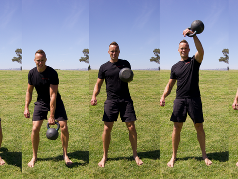 Four Phases of the Kettlebell Snatch