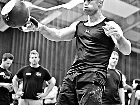 Training For SMK Strength Matters Kettlebell Swing Test