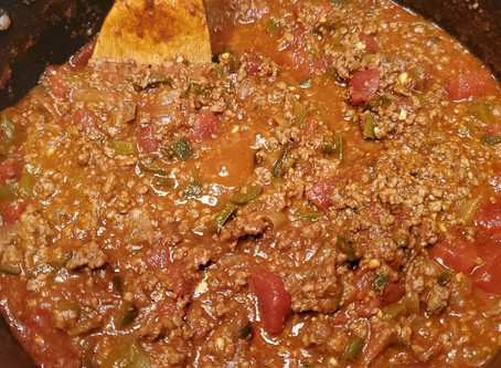 Keto No Bean Chili