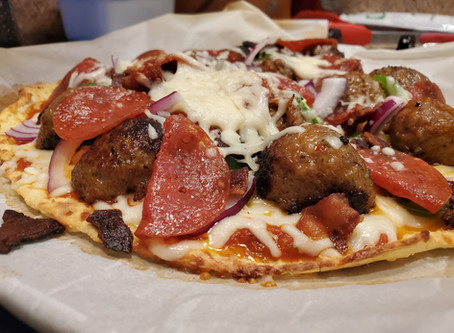 Fathead Keto Pizza Crust