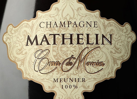 Champagne Mathelin - Brut Nature - Millésime 2014 - Coeur de Meunier