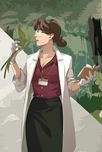 キャラクター植物学者