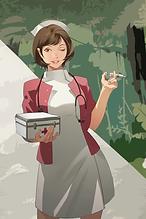 キャラクター看護師